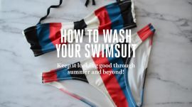 How to Wash Your Swimsuit