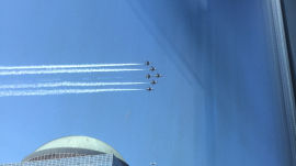 Air Force Thunderbirds Buzz One World Trade Center