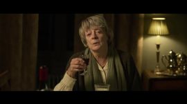 Maggie Smith Bosses Around Kevin Kline in an Exclusive Clip From My Old Lady