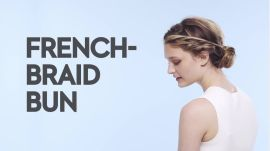 Braids With Friends: French-Braid Bun