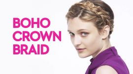 Braids With Friends: Boho Crown Braid