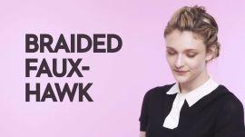 Braids With Friends: Braided Faux-Hawk