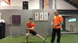 The Lateral-Lunge Crossover