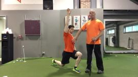 Fitness Friday: The Lunge, Reach And Twist
