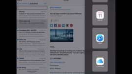 iOS 9 Multitasking on the iPad Air 2