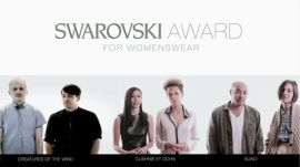 2013 CFDA Swarovski Award for Emerging Talent in Womenswear