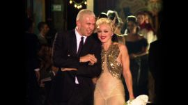 Madonna Hits the Runway at Jean Paul Gaultier