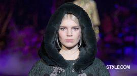 Dolce & Gabbana Fall 2014 Backstage Beauty With Pat McGrath and Guido Palau