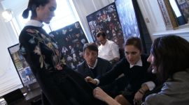 Behind the Scenes at Valentino's Fall 2013 Show with Nicole Phelps