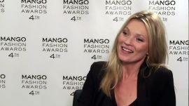 Kate Moss at the Mango Fashion Awards