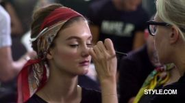 Dolce & Gabbana Spring 2013 Backstage Beauty with Pat McGrath