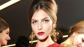Dolce & Gabbana Fall 2013 Backstage Beauty with Pat McGrath