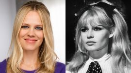 Brigitte Bardot's Smoky Eyes