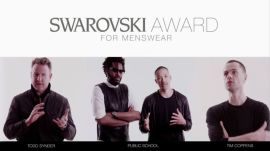 Meet the Nominees: Swarovski Award for Menswear