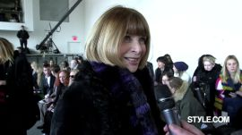 "Anna Wintour's NYFW Wrap Up: ""Trend is a Dirty Word"""