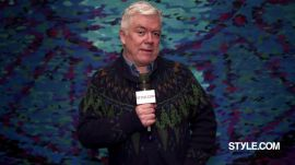 Tim Blanks' Best One-Liners of Fashion Month