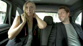 What Tennis Star Maria Sharapova Thinks About Right Before She Serves