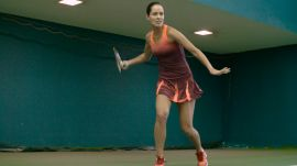 How Ana Ivanovic Styles the Ultimate Tennis Ponytail