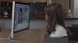 BINA48 Robot Talks to Evie the Avatar