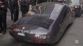 Ars takes a ride with the University of Calgary's Solar Car Team