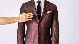 How to Button Your Suit Jacket the Right Way