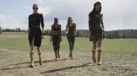 Watch 4 Victoria's Secret Angels Take on the Tough Mudder Challenge