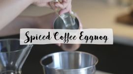 Spiced Coffee Eggnog