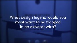 AD100 Talents Determine Which Design Legend They'd Most Like To Be Trapped With