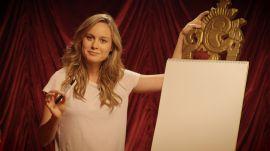 Brie Larson on Her Secret Love of Typography