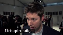 "Christopher Bailey Wants to Make Fashion Week Less ""Confusing"" with Burberry Fall 2016"