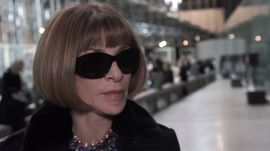 Vogue's Anna Wintour on Her Top London Fashion Week Shows