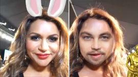 Celebrities Swap Faces with Leonardo DiCaprio After Oscar Win