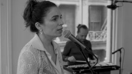 """Yael Naim Sings Her Powerful New Song """"Trapped"""""""