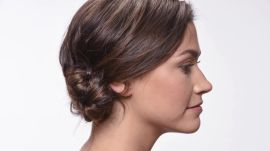 Braided Chignon Hairstyle Tutorial