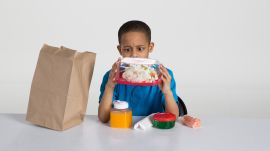Kids Try Brown Bag Lunches from 1900 to 2000