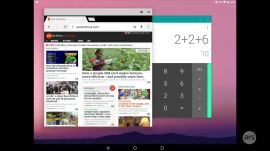 Ars tests drives Android's freeform window mode