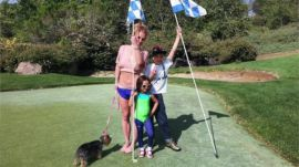 The Grind: Britney Spears' backyard golf course & Jordan Spieth hangs with Steph Curry
