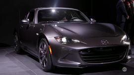 NY Auto Show 2016 car design of the year: Mazda MX-5 RF