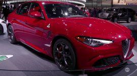 NY Auto Show 2016: Alfa Romeo's new offerings