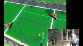 HTC Vive game demo: Cloudlands VR Minigolf