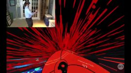 HTC Vive game demo: Audioshield