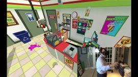 HTC Vive game demo: Job Sim