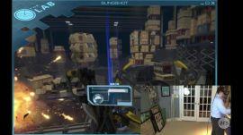 HTC Vive game demo: The Lab - Slingshot