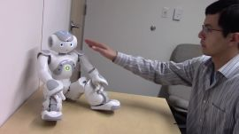 Robot arousal experiment