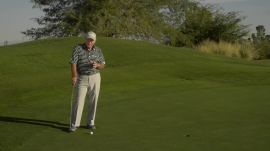 Butch Harmon: How To Hit A Downhill Putt