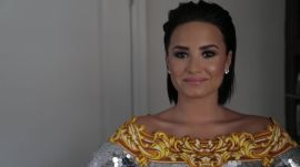 2016 Met Gala: Demi Lovato Gets Ready with W