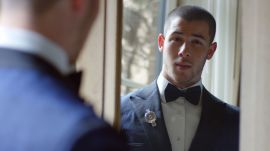 Nick Jonas Suits Up for the Met Gala