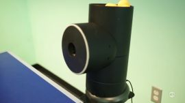 Trainerbot: robot ping-pong trainer