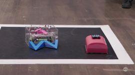 Autonomous robot Sumo competition