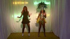 Venus Williams Learns to Samba in Five Minutes